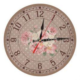 Настенные часы Акита (30 см) Розы AC31