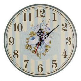 Настенные часы Акита (40 см) Пионы C40-16