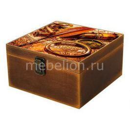 Шкатулка декоративная Акита Путешествия 1012-6