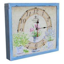 Настенные часы Акита (34х30 см) Цветы в горшках 3034-17