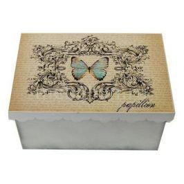 Шкатулка декоративная Акита (26х18х13 см) Бабочка 1826-10-1