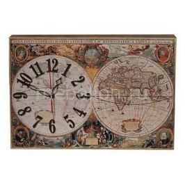 Настенные часы Акита (42.5х30 см) Карта 3042