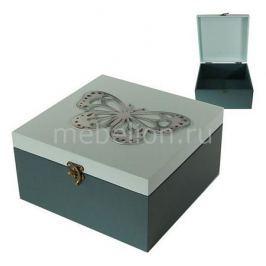 Шкатулка декоративная Акита (24х24х13 см) AKI 1012-2