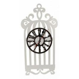 Настенные часы Акита (25х56 см) Клетка N-21