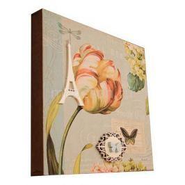Панно Акита (30х30 см) Тюльпан 9761