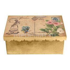 Шкатулка декоративная Акита (26х18х13 см) Дама 1826-15