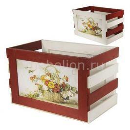 Ящик декоративный Акита Корзина с цветами 828