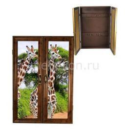 Ключница Акита (32х46 см) Жирафы 311-24