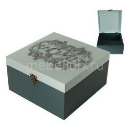 Шкатулка декоративная Акита (24х24х13 см) AKI 1012-3