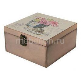 Шкатулка декоративная Акита (24х24х13 см) Прованс 1012-8