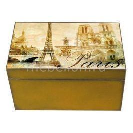 Шкатулка декоративная Акита (26х18х11.5 см) Paris 1725-11