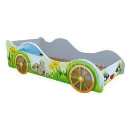 Кровать-машина Кровати-машины Кролики и собачка M014
