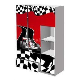 Шкаф платяной Кровати-машины Гонка ШПГK01