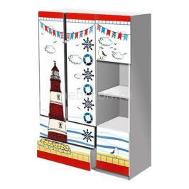 Шкаф платяной Кровати-машины Морское путешествие ШППM01
