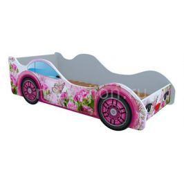 Кровать-машина Кровати-машины Бабочка в розах M015