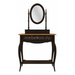 Стол туалетный Этажерка Leontina Black