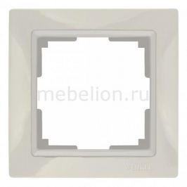 Рамка на 1 пост Werkel Snabb Basic WL03-Frame-01