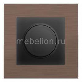 Диммера Werkel Aluminium (Черный матовый) WL08-AUDIOx4 +WL08-DM600