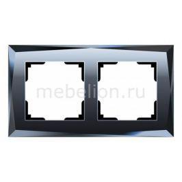 Рамка на 2 поста Werkel Diamant WL08-Frame-02