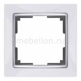 Рамка на 1 пост Werkel Snabb WL03-Frame-01-white