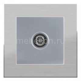 ТВ-розетки оконечные Werkel без рамки Aluminium(Серебряный) WL06-TV-2W+WL06-TV