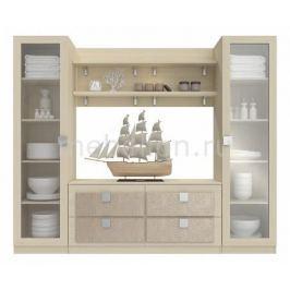 Стенка для гостиной Компасс-мебель Александрия премиум