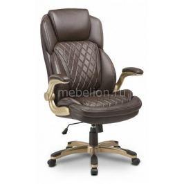 Кресло для руководителя Бюрократ T-9915A/BROWN