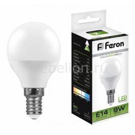 Лампа светодиодная Feron LB-550 E14 9Вт 220В 4000 К 25802