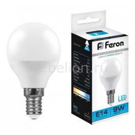 Лампа светодиодная Feron LB-550 E14 9Вт 220В 4000 К 25803