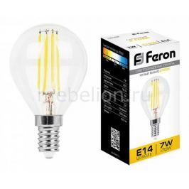 Лампа светодиодная Feron LB-52 E14 7Вт 220В 2700 K 25874