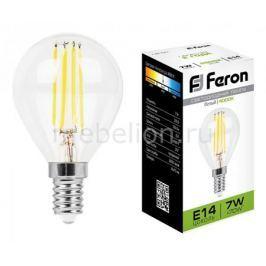 Лампа светодиодная Feron LB-52 E14 7Вт 220В 4000 К 25875