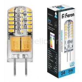 Лампа светодиодная Feron LB-422 G4 3Вт 220В 6400 К 25533