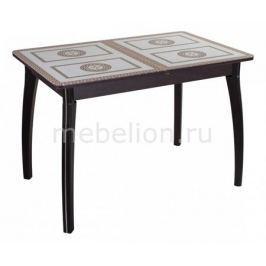 Стол обеденный Домотека Гамма ПР со стеклом