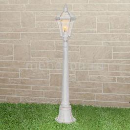 Наземный высокий светильник Elektrostandard Capella F белое золото