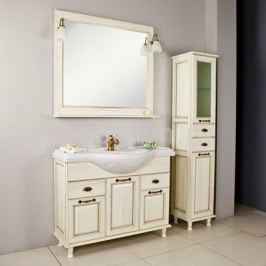 Гарнитур для ванной Акватон Акватон Жерона 105 белое золото
