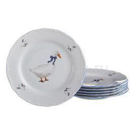 Набор тарелок плоских АРТИ-М Набор из 6 тарелок плоских Гуси 655-038