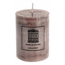 Свеча декоративная ОГОГО Обстановочка (9 cм) Marble 320512