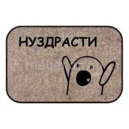 Коврик придверный ОГОГО Обстановочка (40x60 см) Hello