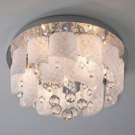 Накладной светильник Eurosvet 80117/8 хром/белый