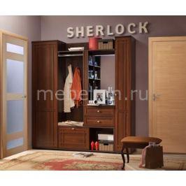 Стенка для для прихожей Глазов-Мебель Шерлок ОШ П2