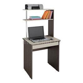 Стол компьютерный Витра Фортуна 37 дуб венге/дуб кобург