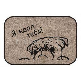 Коврик придверный ОГОГО Обстановочка (40x60 см) Dog
