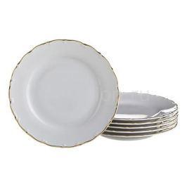 Набор тарелок плоских АРТИ-М Набор из 6 тарелок плоских Офелия 662 655-100