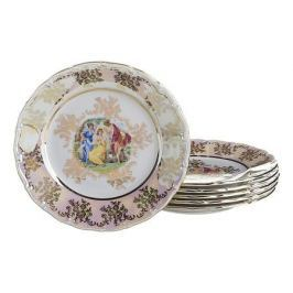 Набор тарелок плоских АРТИ-М Набор из 6 тарелок плоских Мадонна 655-076