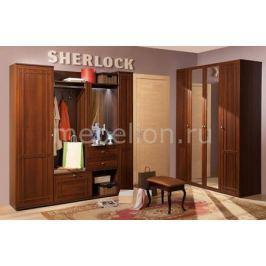 Стенка для для прихожей Глазов-Мебель Шерлок ОШ П1
