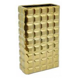 Ваза настольная Three Hands (36 см) Black & Gold 38368