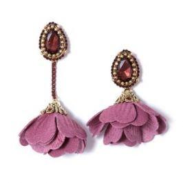 Серьги Herald Percy Розовые серьги-цветы