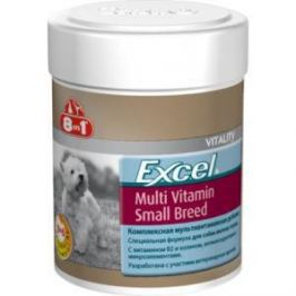 8 in 1 8in1 Excel Small breed Multi Vitamin