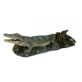 TRIXIE Грот Trixie для аквариума крокодил 26 см пластиковый