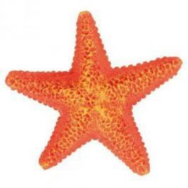 TRIXIE Грот Trixie для аквариума морская звезда 9 см пластиковый - 12 шт
